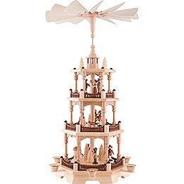 3-Tier Pyramid - Forest People - 58 cm / 22.8 inch