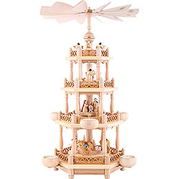 4-Tier Pyramid - 'Nativity' - 55 cm / 21.7 inch