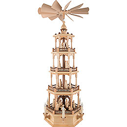 4-Tier Pyramid - Nativity - 86 cm / 34 inch