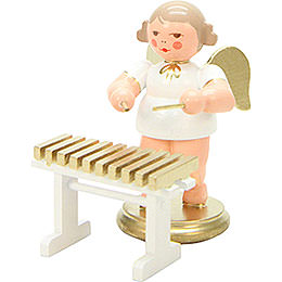Angel White/Gold Xylophone - 6,0 cm / 2 inch