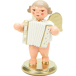 Angel White/Gold with Concertina - 6,0 cm / 2 inch