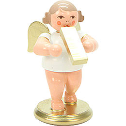Angel White/Gold with Melodica - 6,0 cm / 2 inch