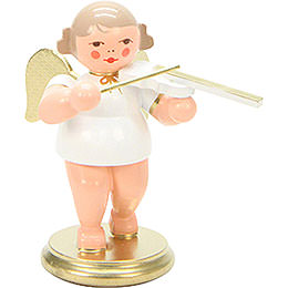 Angel White/Gold with Violin - 6,0 cm / 2 inch