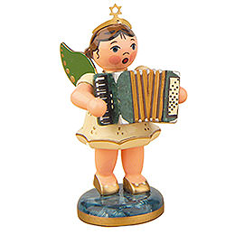 Angel with Accordion - 6,5 cm / 2,5 inch