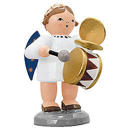 Angel with Drum and Rattles - 5 cm / 2 inch