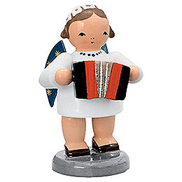 Angel with Harmonika - 5 cm / 2 inch