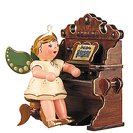 Angel with Harmonium - 6,5 cm / 2,5 inch