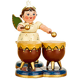 Angel with Kettle Drum - 6,5 cm / 2,5 inch