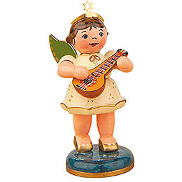 Angel with Mandolin - 6,5 cm / 2,5 inch