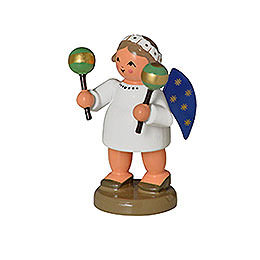 Angel with Maracas - 5 cm / 0,8 inch