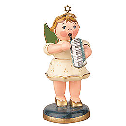 Angel with Melodica - 6,5 cm / 2,5 inch