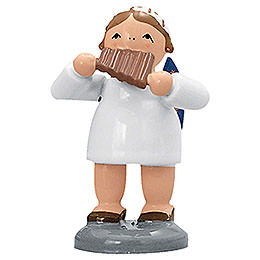 Angel with Pan Flute - 5 cm / 2 inch