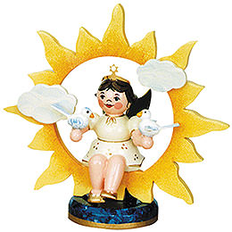 Angel with Sun and Doves - 6,5 cm / 2,5 inch