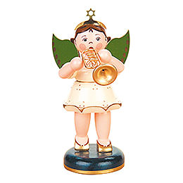 Angel with Trumpet - 16 cm / 6 inch