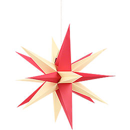 Annaberg Folded Star for Indoor with Red-Yellow Tips - 58 cm / 22.8 inch