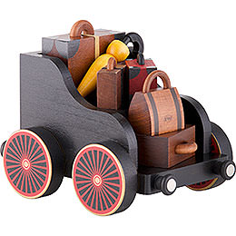 Baggage Cart for Railroad - 19x13x13 cm/7.4x5.1x5.1 inch
