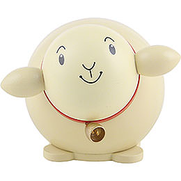 Ball Figure Sheep Colored - 6 cm / 2.3 inch