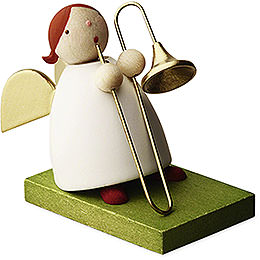 Big Band Guardian Angel with Trombone - 3,5 cm / 1.3 inch