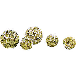 Box Balls (5 pieces) - 2 cm / 0.8 inch