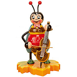 Bumblebee with Cello - 8 cm / 3 inch