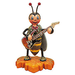 Bumblebee with Electric Guitar - 8 cm / 3 inch