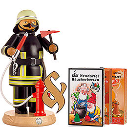 Bundle - Smoker Fireman plus three packs of incense