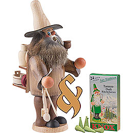 Bundle - Smoker Woodwork Salesman plus one pack of incense