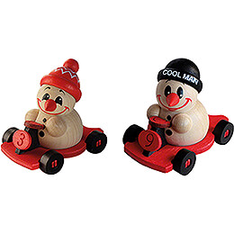 COOL MAN Go-Kart - 2 pcs. - 6 cm / 2.4 inch