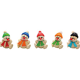 COOL MAN Junior with Scarf - 5 pcs. - 6 cm / 2.4 inch