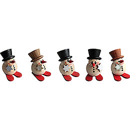 COOL MAN Mini Classic - 5 pcs. - 4 cm / 1.6 inch