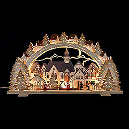 Candle Arch - Christmas Time Exclusive - 72x41x7 cm / 28.3x16.1x2.8 inch