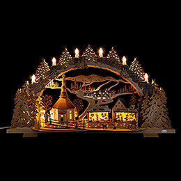 Candle Arch - Fair in Seiffen - 72x43 cm / 28.3x16.9 inch
