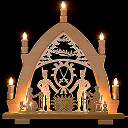 Candle Arch - Miner - 41x42 cm / 16.1x16.5 inch