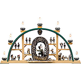 Candle Arch - Scenes From the German Erzgebirge - 73x41 cm / 28x16 inch
