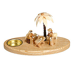 Candle Holder - Nativity - 11 cm / 4 inch