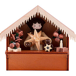 Christmas Market Stall Stars with Thiel Figurine - 8 cm / 3.1 inch