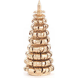 Coiled Tree without Trunk - Golden - 4 cm / 1.6 inch