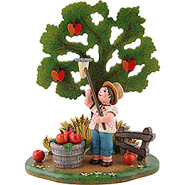 Country Idyll Apple Harvest - 10x13 cm / 3.9x5.1 inch