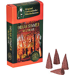 Crottendorfer Incense Cones - Trip Around the World - Indian Summer