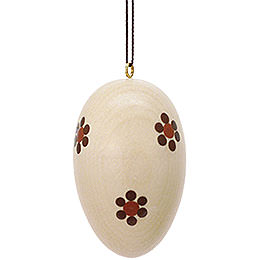 Easter Ornament - Egg Natural Bright - 3 cm / 1.2 inch