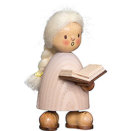 Finja with Book - 9 cm / 3.5 inch