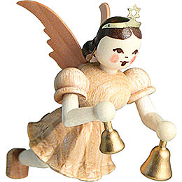 Floating Angel Bells, Natural - 6,6 cm / 2.6 inch