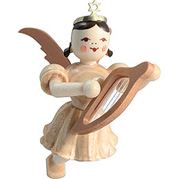 Floating Angel Lyre, Natural - 6,6 cm / 2.6 inch