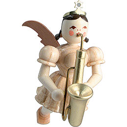 Floating Angel Saxophone, Natural - 6,6 cm / 2.6 inch