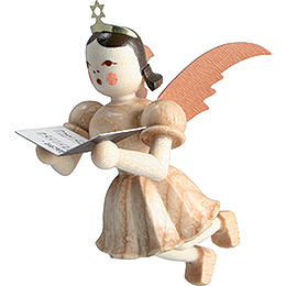 Floating Angel Singer, Natural - 6,6 cm / 2.6 inch