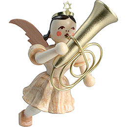 Floating Angel Tuba, Natural - 6,6 cm / 2.6 inch