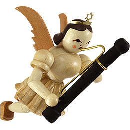 Floating Angel with Bassoon - 9 cm / 3.5 inch