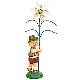 Flower Child Boy with Precious White - 11 cm / 4,3 inch