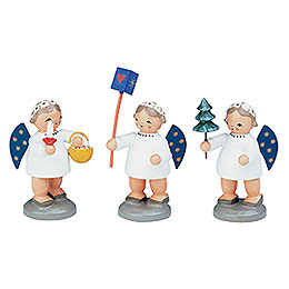 Group of Angels - 3 pcs. - 5 cm / 12 inch