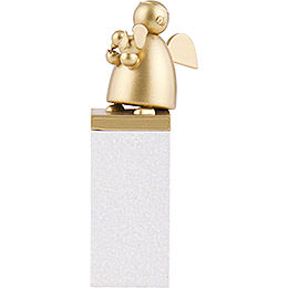 Guardian Angel Gold with Bird - 8 cm / 3.1 inch